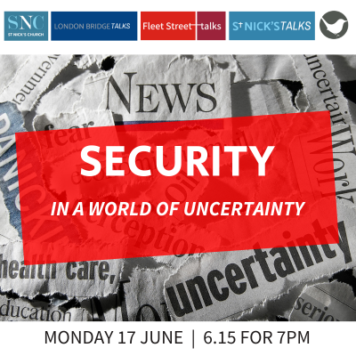 Security In A World Of Uncertainty