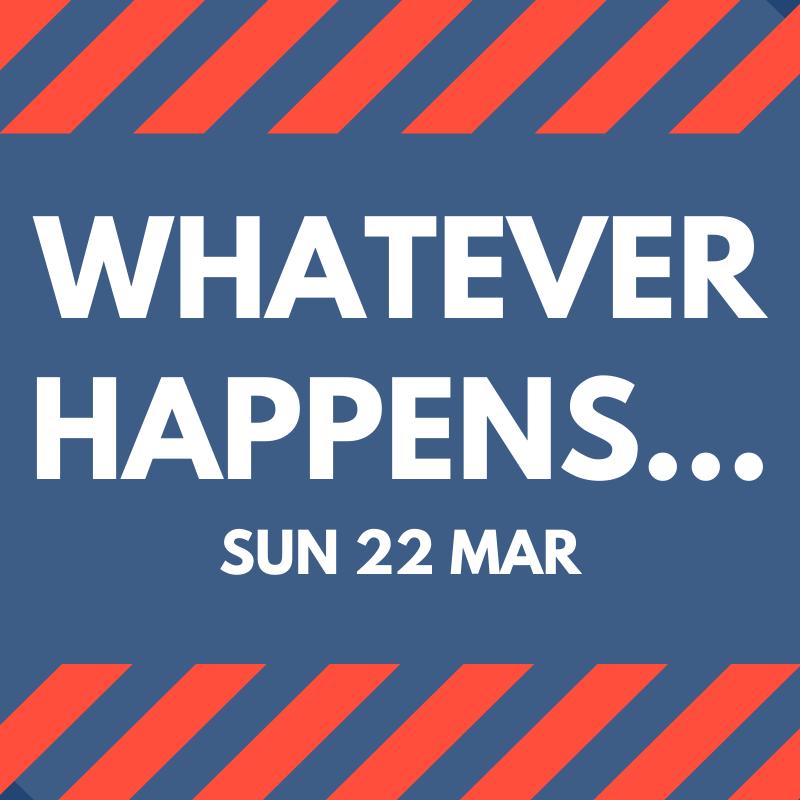 Whatever happens… (Matthew 8:1-17)